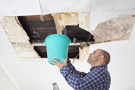 Water Damage Restoration is needed